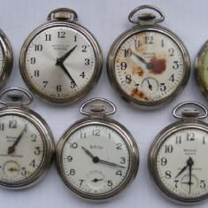7 ceasuri vechi de buzunar defecte - de colectie - Ceas de buzunar