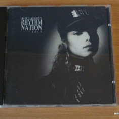 Janet Jackson - Rhythm Nation 1814 *RARITATE*