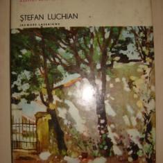 J LASSAIGNE - STEFAN LUCHIAN {imagini detasabile album Maestrii Artei Romanesti}