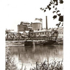 CP189-18 Ocna Mures. Uzina de produse sodice(pod) -carte postala circulata 1969