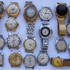 18 ceasuri vechi de mina defecte - de colectie - Ceas barbatesc Timex, Sport
