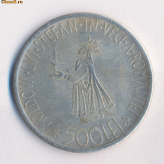 Romania - 500 Lei 1941 - FALS ( diametrul 37 mm ) - Moneda Romania