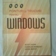 WINDOWS - 101 PONTURI SI TRUCURI +CADOU,, EXCEL 5
