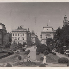 B18541 Arad Piata Xenopol - Carte Postala Crisana dupa 1918