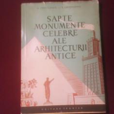 Georgeta Chitulescu Sapte monumente celebre ale arhitecturii antice, ilustratii