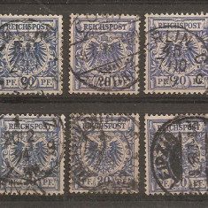TSL01 GERMANIA, LOT STAMPILATE