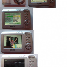 CAMERA SANYO VPC S700, 7 MEGAPIXELI - Aparat Foto compact Sanyo
