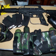 Set un jucator paintball - Pistol paintball