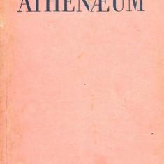 4 CARTI ATHENAEUM REVISTA DE IDEOLOGIE SI STIINTA A LICEELOR MILITARE