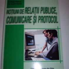 Carte Notiuni de relatii publice, comunicare si protocol - Carte de publicitate
