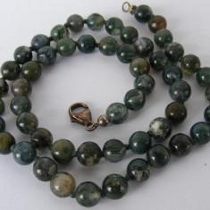 Colier vechi din agate - de colectie - Colier perle