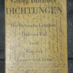 G Buchner Dichtungen Reclam 1979 - Carte traditii populare