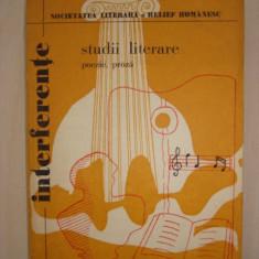 INTERFERENTE STUDII LITERARE POEZII PROZA 1979 - Studiu literar