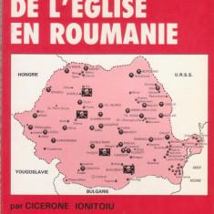Cicerone Ionitoiu / Drama Bisericii greco-catolice din Romania (ed.I, in franceza - Carte Editie princeps
