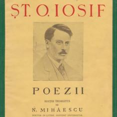 St.O.Iosif / POEZII (editie 1943)