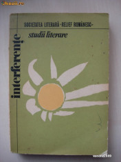 SOCIETATEA LITERARA RELIEF ROMANESC - STUDII LITERARE