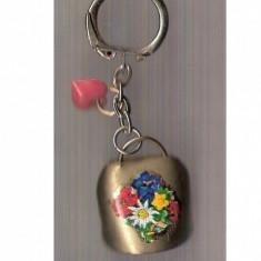 43 Breloc pentru colectionari - talanga in miniatura -inimioara - Miniatura Figurina