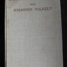 J Volkelt Arthur Schopenhauer (in germana) Stuttgard 1923 - Filosofie