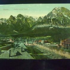 Carte postala Busteni. Vedere de la tunel.