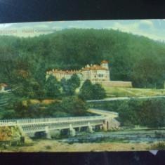 Carte postala Busteni. Palatul Cantacuzino.