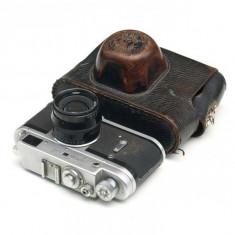 Zorki 4 + obiectiv Jupiter 8 - Aparat Foto cu Film Zorki