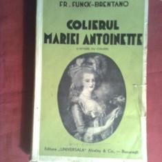 FR.FUNCK-BRENTANO -COLIERUL REGINEI MARIA ANTOINETTE-interbelic
