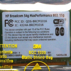 Placa Retea Wireless Broadcom BCM94318 - pentru Laptop - Mini PCI WLAN Mini Card