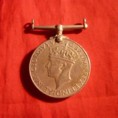 Medalie Militara Anglia -al II-lea razboi mond. -George VI