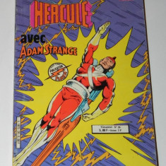 BENZI DESENATE HERCULE AVEC ADAM STRANGE. AREDIT - Reviste benzi desenate