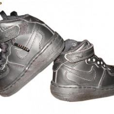 Adidasi Nike - marimea 18.5 - Ghete copii Nike, Culoare: Negru, Baieti