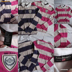 2 BLUZE,Polo Jeans Cooriginale,,ROZ,BELUMAREN-