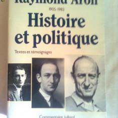 RAYMOND ARON ~ HISTOIRE ET POLITIQUE - Carte Politica