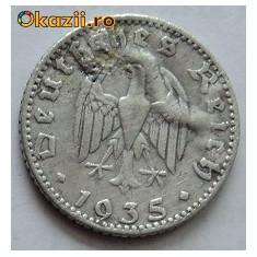 50 reichspfennig 1935 J