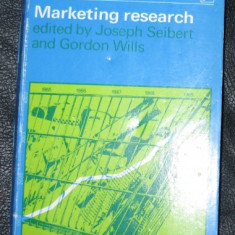 Marketing Research Selected Readings ed. by J Seibert & G. Wills Pinguin Books 1970 - Carte Marketing