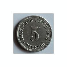5 pfennig 1911