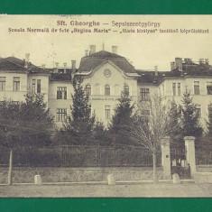 13.ILUSTRATA SFANTU GHEORGHE - SCOALA NORMALA DE FETE - CIRCULATA.