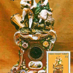 Ilustrata Maxima Ceas portelan de Bohemia