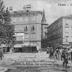 VEDERE FINLANDA FIUME PIAZZA SCARPA (1913) -VED 467