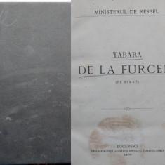 Ministerul de razboi , Tabara militara de la Furceni , Siret , Bucuresti , 1870