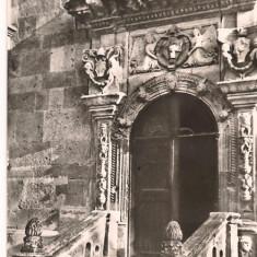 Ilustrata-Alba Iulia-detaliu din catedrala romano-catolica