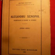 OCTAV BOTEZ - ALEXANDRU XENOPOL - Prima Ed- 1928