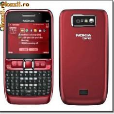 Vand/schimb nokia e63 codat orange cu e63 codat vodafone - Telefon Nokia, Rosu