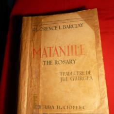 Florence L.Barclay -Mataniile - Ed. R.Cioflec -Ed. interbelica
