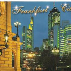 Carte postala(ilustrata)-FRANKFURT CITI