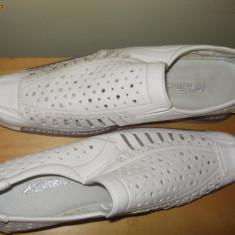 Pantofi albi 39 - Pantofi barbat