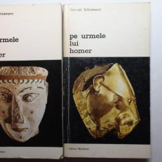 H.Schliemann / Pe urmele lui Homer (2 volume,cu ilustratii)