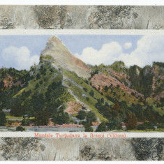CFL ilustrata 1910 munte Tutudanu la Brezoi jud Valcea - tip rama