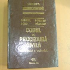 G. Boroi D. Radescu Codul de procedura civila 1996 - Carte Codul penal adnotat