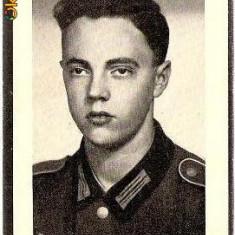 V FOTO 15 Necrolog -Militar german Gefreiter Max Krenn, cazut in razboi, la varsta de 19 ani si jumatate -cruce cu zvastica 1939 - Fotografie