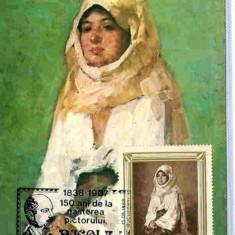 Ilustrata Maxima Pictura - N. Grigorescu, Taranca cu marama